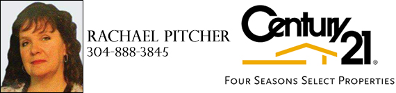Rachael Pitcher - Century 21 Four Seasons Select Properties - Princeton WV Real Estate